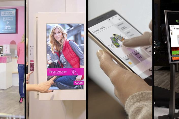 Grafik zu 4 Möglichkeiten der Store Digitalisierung