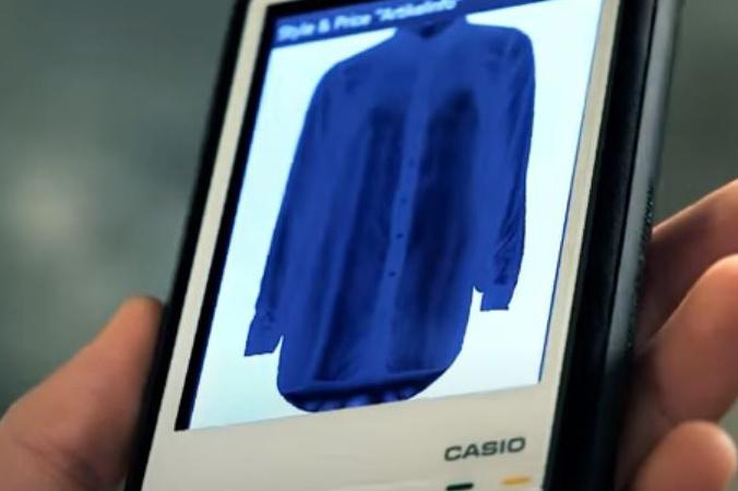 Close-Up des MDE Geräts Casio IT-300