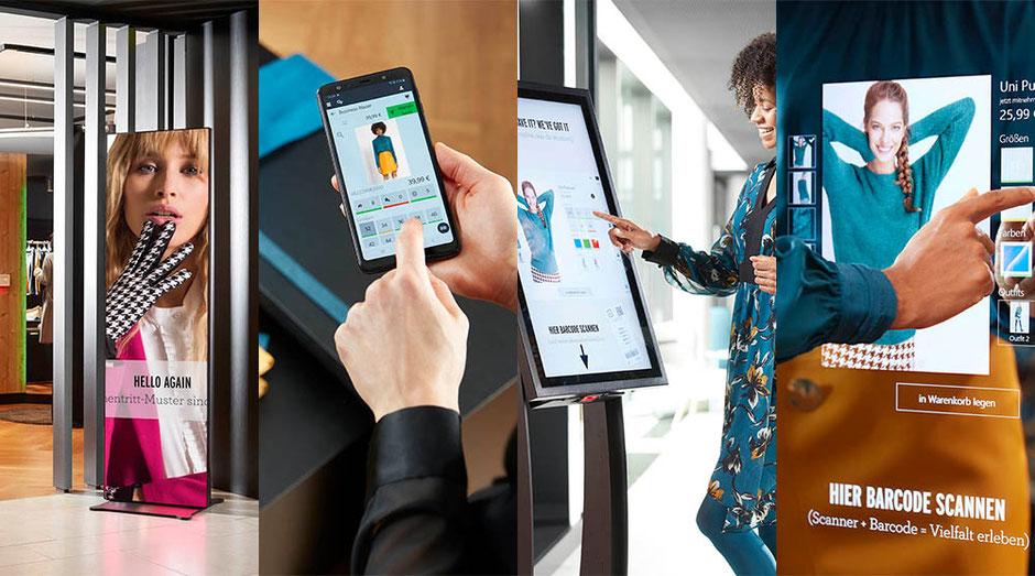 4 Möglichkeiten der Store Digitalisierung
