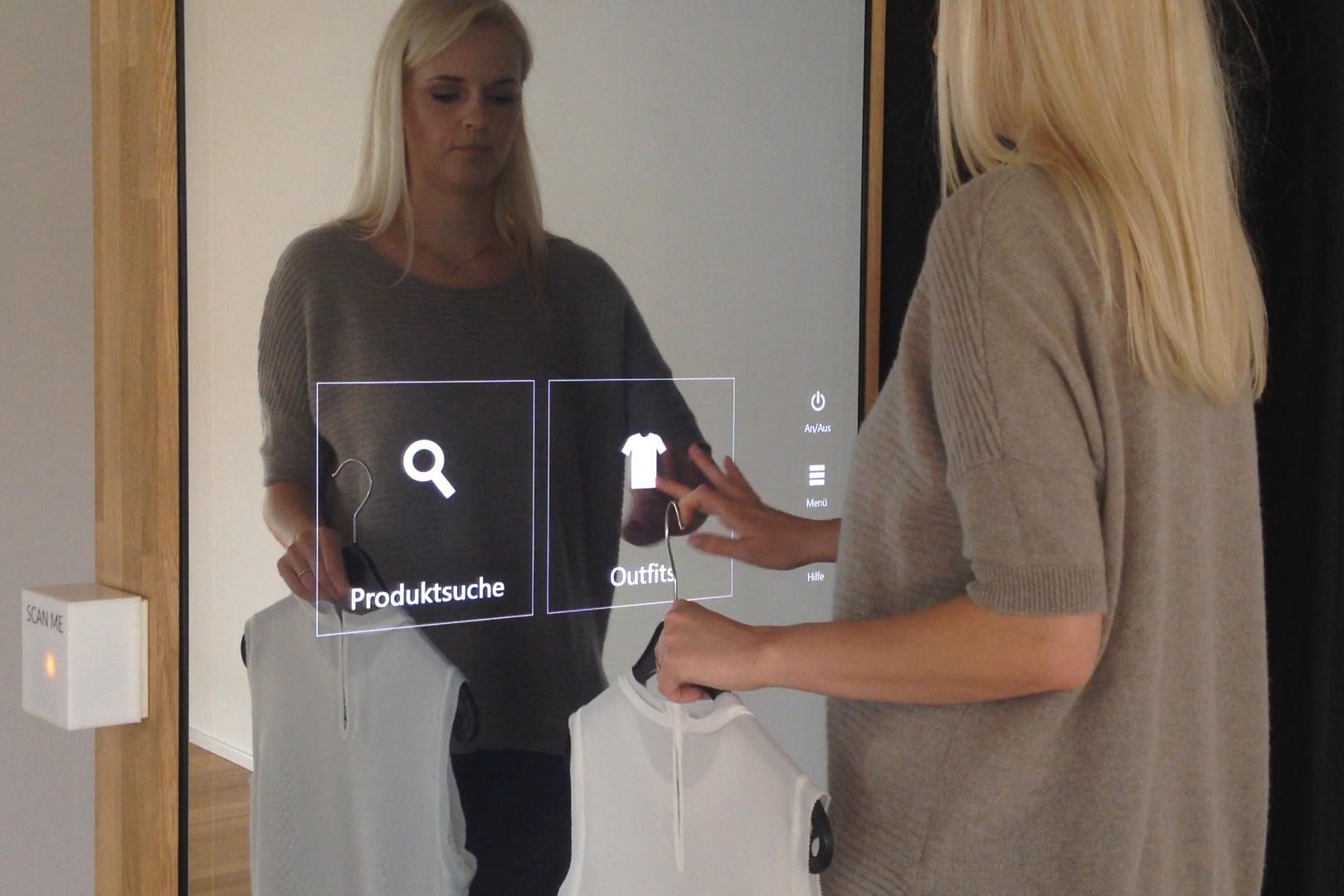 Vorschaubild für ein Video zum Interactive Fitting Room