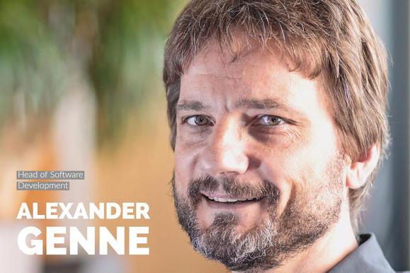 Bütema Head of Software Development Alexander Genne