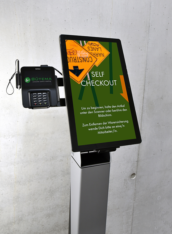 ELO Touch Self Checkout Terminal