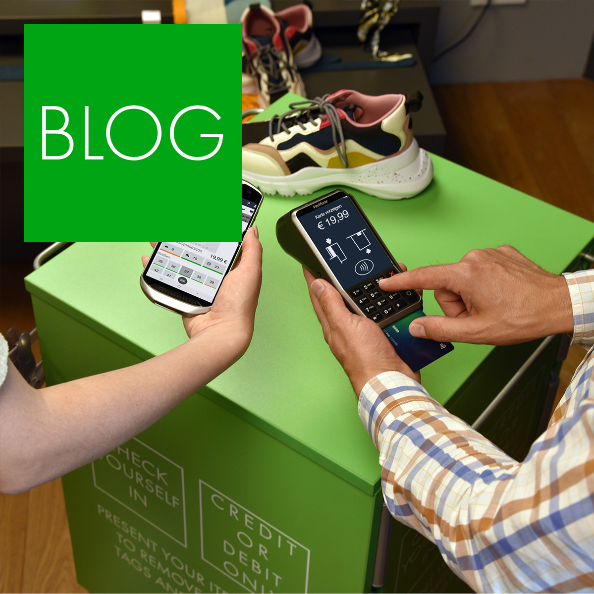 Blogpost: Mobile Checkout im Einzelhandel