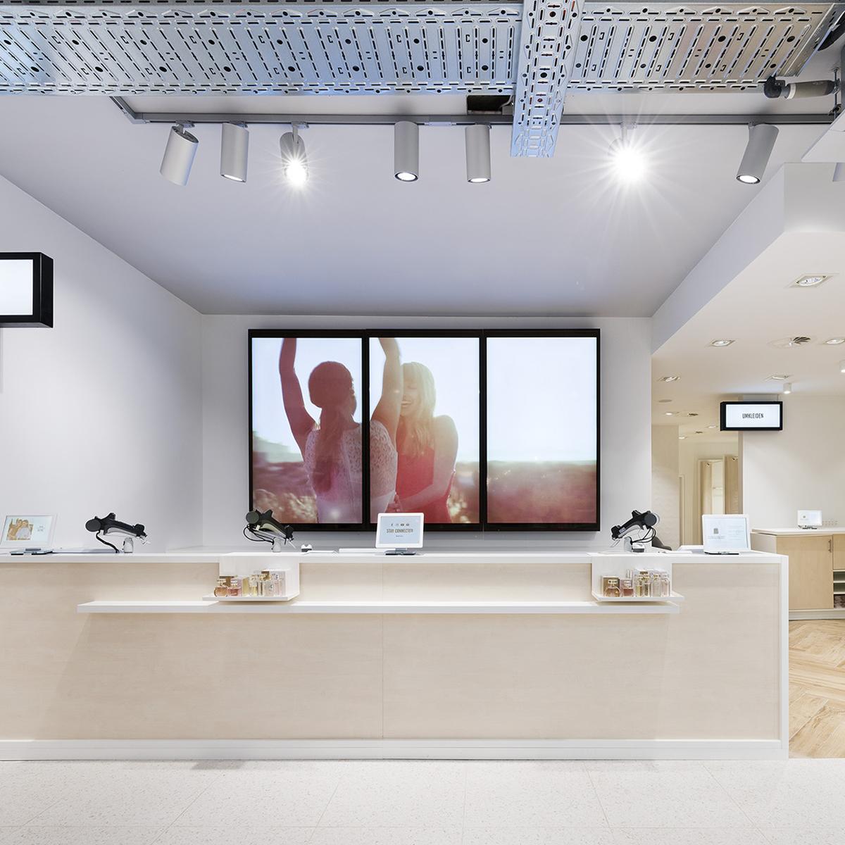 Digital Signage bei Orsay