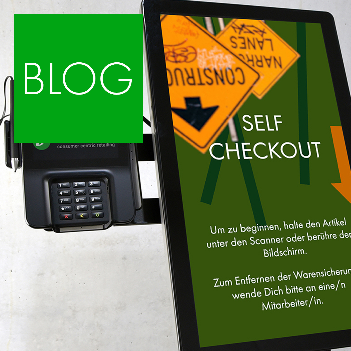 Blogpost: Produktlaunch Self Checkout