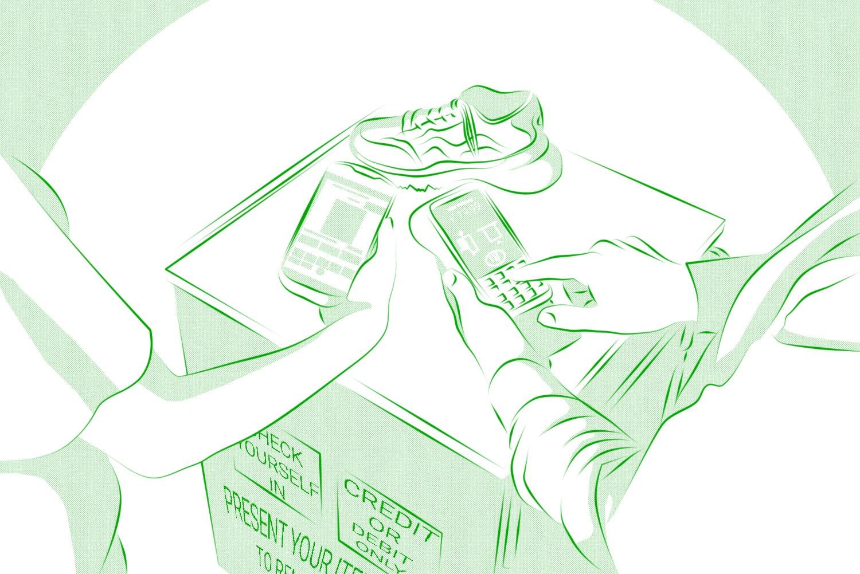 Comicpanel zu Kundenservice am Point of Sale