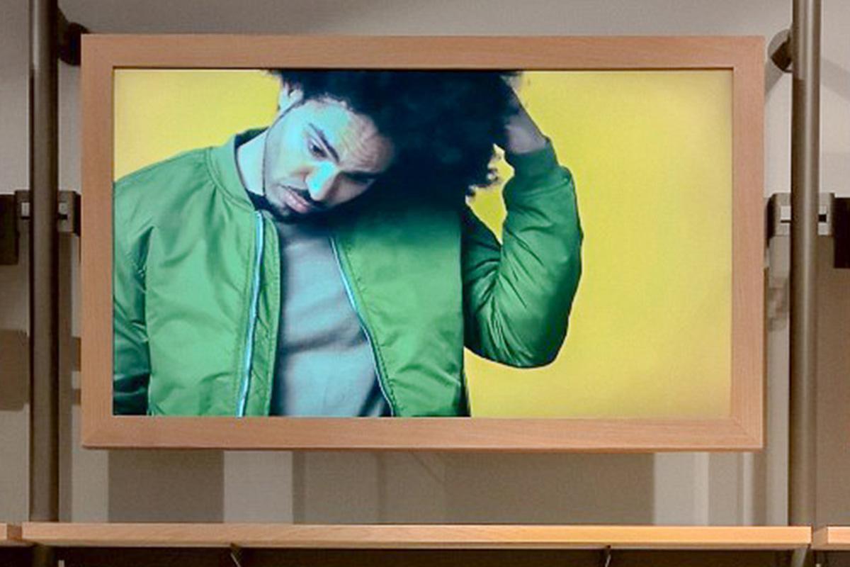 Digital Signage bei Esprit